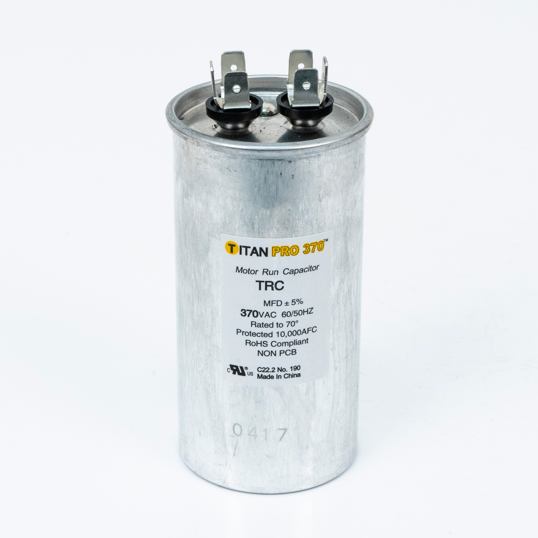 TITAN PRO Run Capacitor 70 MFD 370 Volt Round
