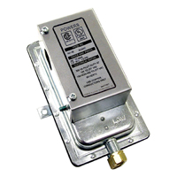 Pneumatic Controls Airflow Switch, Differential Static Pressure