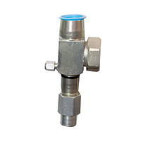 Bristol Suction Service Valve 094-124 Capacity (Includes teflon seal)