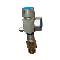 Suction service valve 1 3/8 with teflon seal