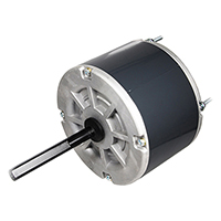 48 Frame Motor, 1/8 HP, 208-230 Volts, 1125 RPM, Carrier Replacement
