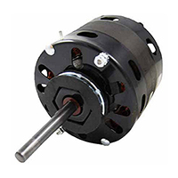 Direct Drive Blower Motor, 1/5 HP, 208/230V, 1050 RPM