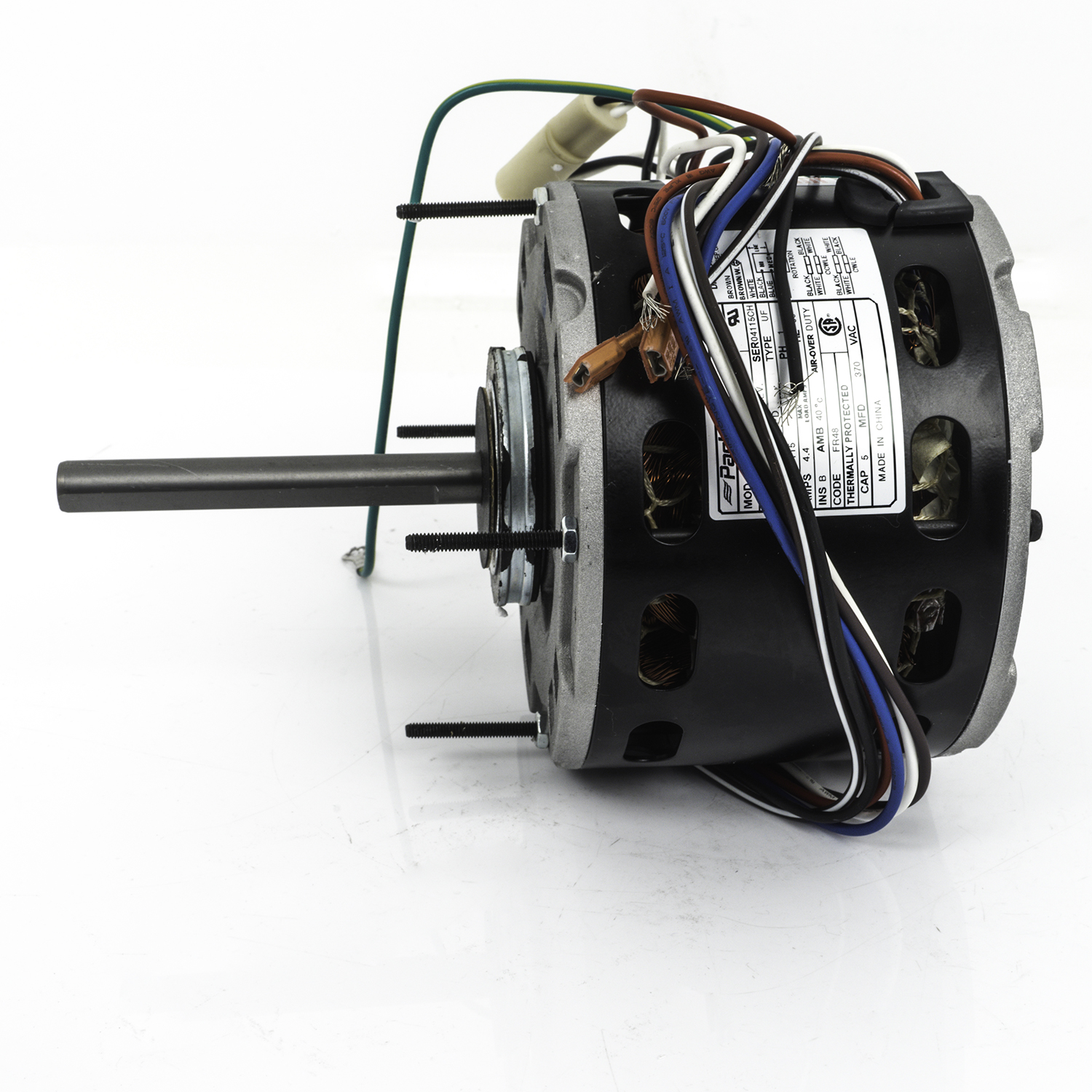 48 Frame Direct Drive Blower Motor, 1/2 HP, 208-230 Volts ... on