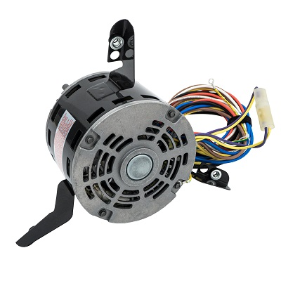 48 Frame Direct Drive Blower Motor 3/4 HP, 208-230 Volts, 1075 RPM, 3 Speed