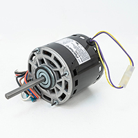 Direct Drive Blower Motor, 1/4 HP, 208-230 Volt, 1625 RPM