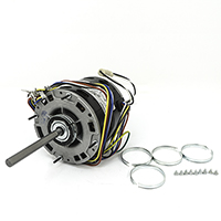 "5 5/8"" Dia. Multi-Horsepower Direct Drive Blower Motor, 115 Volts, 1075 RPM"