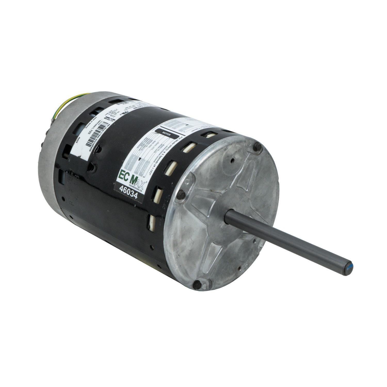 EC Direct Drive Blower Motor, 3/4 HP, 115/230V, 1070 RPM | Packard
