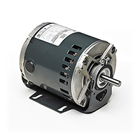 48Y Frame Split Phase Furnace Blower Motor, 1/4 HP, 1725 RPM, 115 Volts