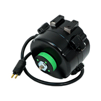 EC Unit Bearing Motor, 4-25 Watts, 115-230 Volts, 1550 RPM, CW Lead End