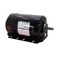Three Phase ODP Resilient Base Motor 208-230/460 Volts 1725 RPM 3/4 H.P.
