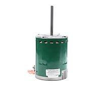 1 HP Fan & Blower Motor, 1075 RPM, 5 Speed/PWM, 208-230 Volt