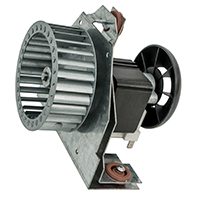 Motor and Bracket Assembly, 25 MHP, 115 Volt, 3200 RPM, Replaces Carrier