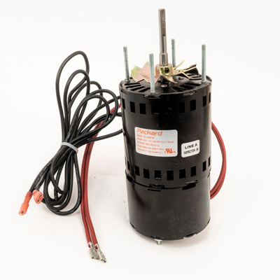3.3 In. Dia. Switch Motor, 1/40 HP, 208-230 Volt, 3200 RPM, Replaces York