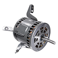 48 Frame Torsion Flex Mount Motor, 3/4 HP, 115 Volt, 1075 RPM, Carrier Repl