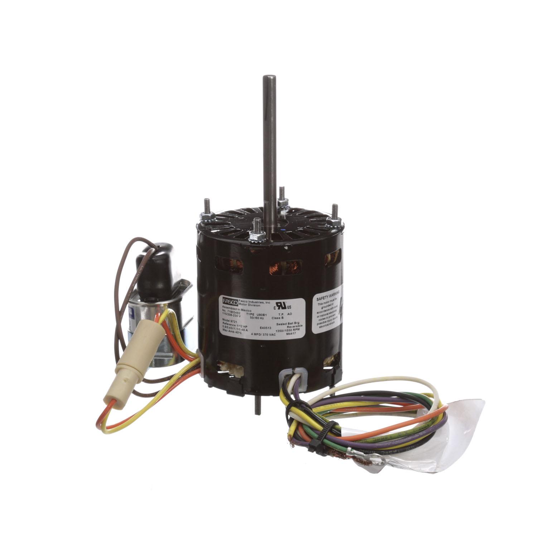 Packard 3.3 Inch Diameter Motor 208-230 Volts 1550 RPM