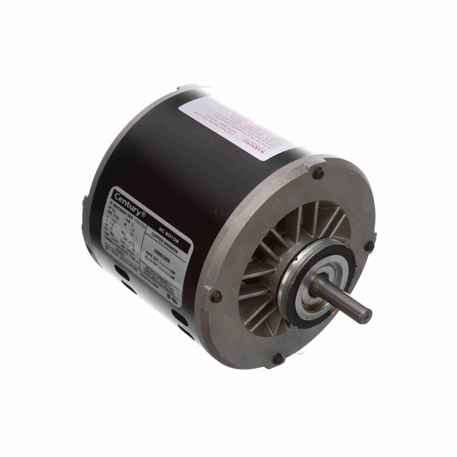 1/2 HP, 115 V, Evaporator Coil and Refrigeration Fan
