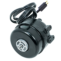Unit Bearing Motor, Cast Iron, 9 Watt, 115 Volt, 1550 RPM