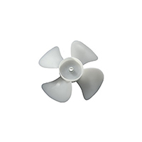 Plastic Fan Blade 5 1/2
