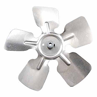 Small Aluminum Fan Blade With Hubs 8