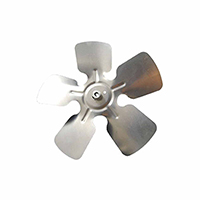 Small Aluminum Fan Blade With Hubs 10