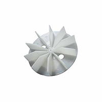 Plastic Blower Wheel And Fan Blade 7/32