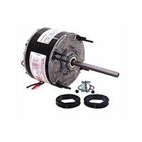 5-5/8 In Dia Totally Enclosed Fan/Blower Motor 115 Volts 1075 RPM 1/6 HP
