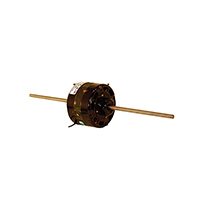 Century 4 5/16 In Dia. Shaded Pole Motor Double Shaft 1550 RPM 115 Volts