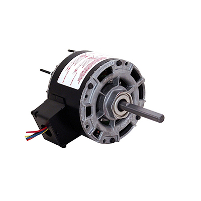5 In Dia Single Shaft Open Fan/Blower Motor 115/230 Volts 1050 RPM 1/12 HP