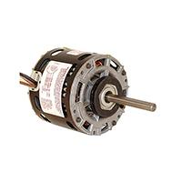 5 In Dia Single Shaft Open Fan/Blower Motor 208-230 Volts 1100 RPM 1/4 H.P.