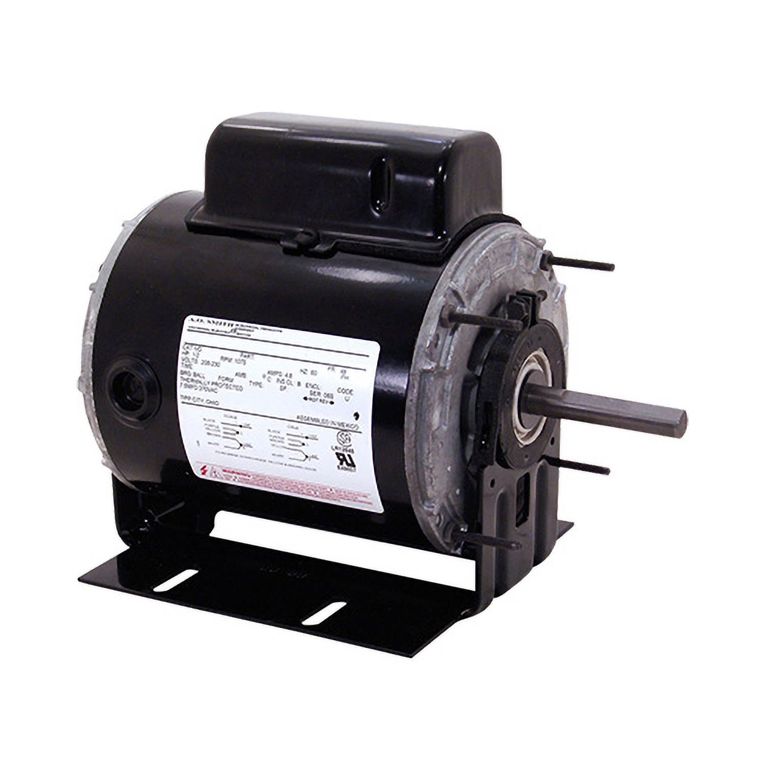 1/2 HP 48 Frame Totally Enclosed Blower Motor 115/208-230 Volts 1140 RPM