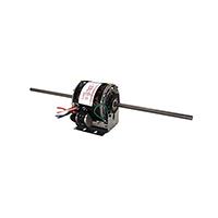 5 In Dia Dbl Shaft Fan/Blower Motor 115V 1625 RPM 1/6~1/8~1/10~1/15 HP