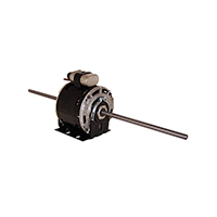 5-5/8 In Dia Double Shaft Fan/Blower Motor 230 Volts 1075 RPM 1/2 H.P.
