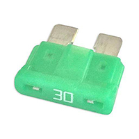 30 Amp 32 VDC Fast Acting Automobile Blade Fuse