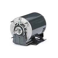56Z Frame Split Phase Fan & Blower Motor, 1/2 HP, 1725 RPM, 115 Volts