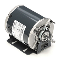 48Y Frame Split Phase Fan & Blower Motor, 1/6 HP, 1725 RPM, 115 Volts