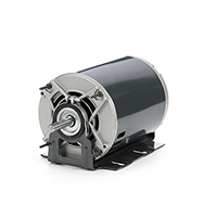 48Y Frame Split Phase Fan & Blower Motor, 1/2 HP, 1725 RPM, 115 Volts