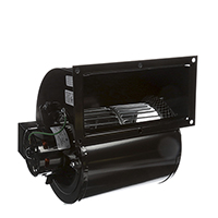 Centrifugal Blower, 2.9 Amps, 115 Volts, 1600/1400 RPM