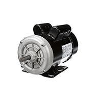Capacitor Enclosed Rigid Base Motor 208-230/115 Volts 3450 RPM 2 H.P.