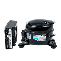 Recip. Compressor, R-134a, 12/24V DC & 100-240V AC, 50/60Hz L/M/HBP, w/ Elect.