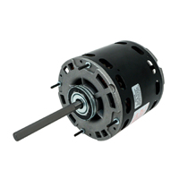 48 Frame Direct Drive Blower Motor, 1/3 HP, 208-230 Volts, 1075 RPM