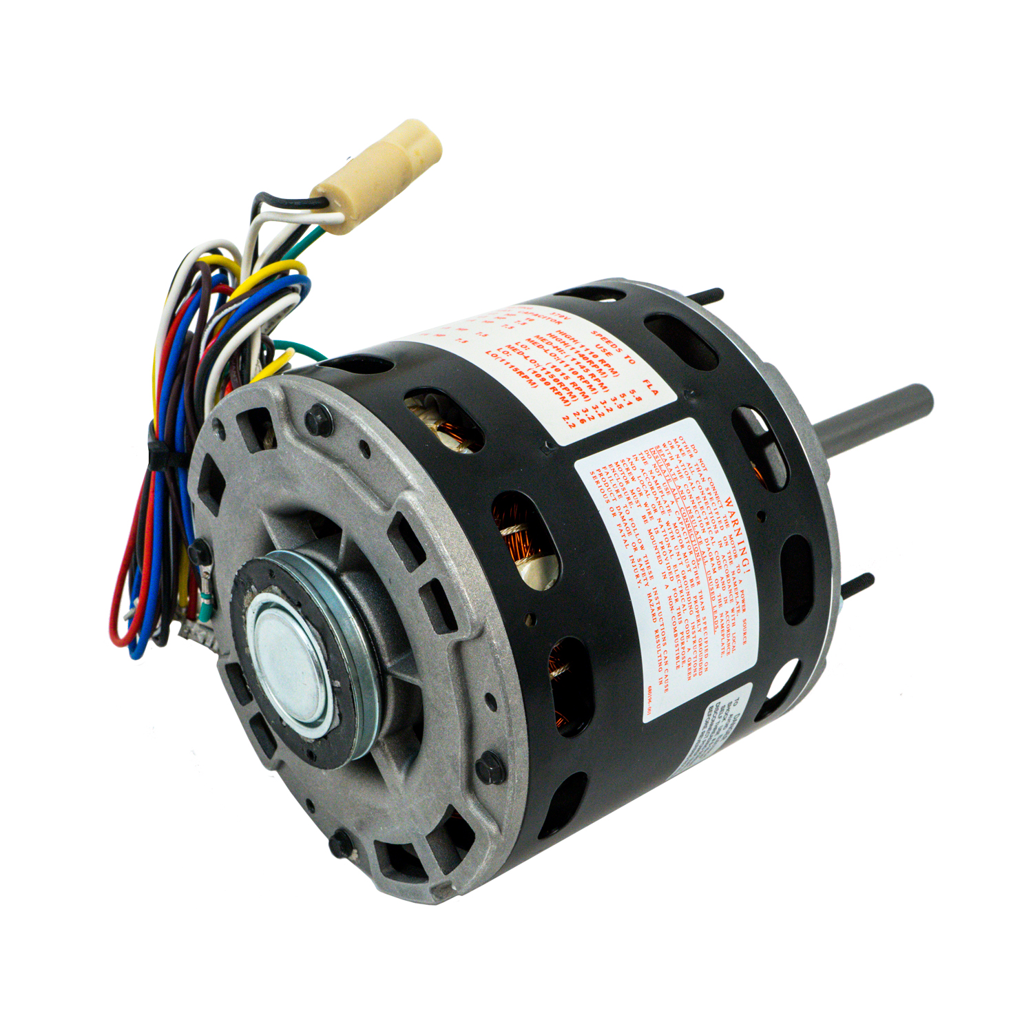 48 Frame Direct Drive Blower Motor, 1/4 HP, 115 Volts, 1075 ... on