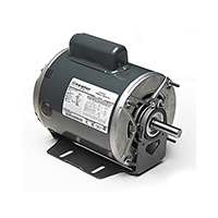 48Z Frame Capacitor Start Fan & Blower Motor, 1/3 HP, 1725 RPM, 115/230 V