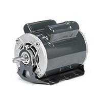 56H FR Capacitor Start Motor, 1-1/2 HP, 1725 RPM, 115/208-230 V