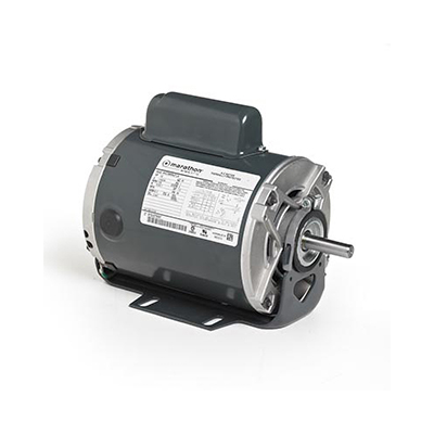 48 FR Capacitor Start Fan and Blower Duty Mtr, 1/2 HP, 1725 RPM, 115/230 V