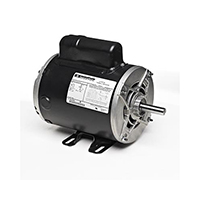 56 FR Capacitor Start Motor, 1 HP, 1725 RPM, 115/230 V