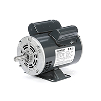 48 FR Capacitor Start Motor, 1/3 HP, 1800 RPM, 115/208-230 V