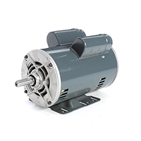 56H FR Capacitor Start/Capacitor Run Motor, 1 1/2 HP, 1725 RPM, 115/230 V