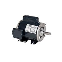 143T FR Capacitor Start Motor, 1 HP, 1725 RPM, 115/208-230 V