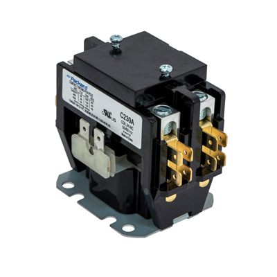 2 pole contactor wiring diagram hvac contactor 2 pole 30 amps 24 coil voltage packard online  2 pole 30 amps 24 coil voltage