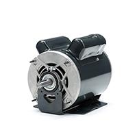 56 Frame Capacitor Start Fan and Blower Motor, 3/4 HP, 1725/1140 RPM, 115 V